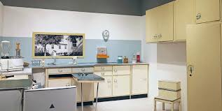 Retro Style Kitchen Cabinets Being Old With 50s Style Kitchen 1950s Decor 50s Retro Aesthetic