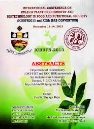 abstracts on international conference on role of plant
