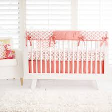 Nursery Beddings Pink And Gold Crib Bedding Sets In Conjunction