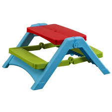 kids outdoor picnic table kids outdoor indoor folding picnic bench free uk delivery available