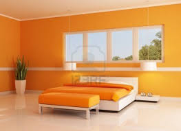 bedroom bedroom colors orange terracotta tile alarm clocks floor