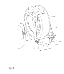 patent us20070075511 wheel dolly for vehicle towing and recovery