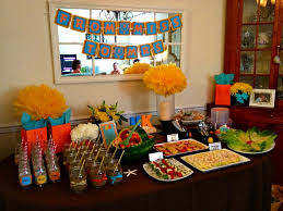themed wedding shower tropical bridal shower