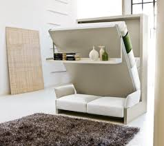 retractable wall astounding combination of wall bed sofa design featuring