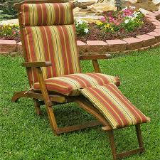 20 X 20 Outdoor Chair Cushions Blazing Needles Outdoor Steamer Chaise Lounge Cushion 72 X 20 In