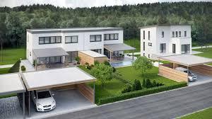 modern duplex house in austria u2013 viscato