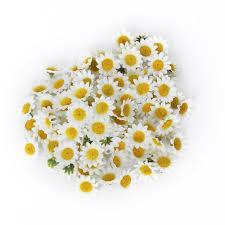 akord artificial gerbera daisy flower heads for diy wedding party