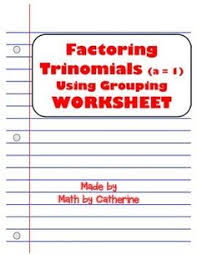 factoring trinomials with leading coefficient not 1 fast way
