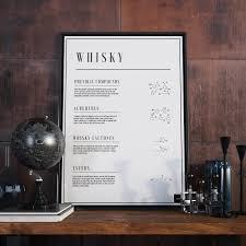 Military Home Decor Whisky