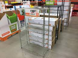 home depot totes black friday hdx shelving units as low as 19 97 at home depot the krazy