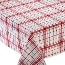 Bed Bath And Beyond Christmas Tablecloths Buy Red 70 In Round Tablecloth From Bed Bath U0026 Beyond