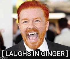 Ginger Meme - laughs in ginger imgflip