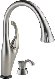 kitchen moen faucets repair sink leaking delta single handle