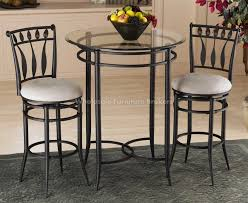 glass breakfast table set glass top bistro table popular peacock set with 11 interior and