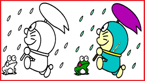 doraemon coloring pages doraemoncolouring book colors videos