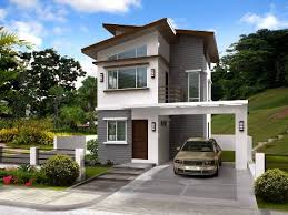 simple two storey house design simple 2 storey house design philippines homeca