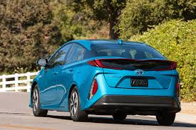 toyota prius toyota prius prime cuts seating to four boosts mileage