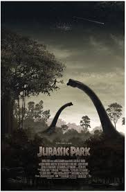 mondo u0027s new u0027jurassic park u0027 poster is a striking departure for the