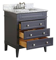 Bathroom Vanity 24 Inches Wide by Kitchen Bath Collection Kbc L30gycarr Eleanor Bathroom Vanity With