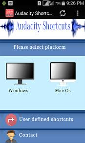 audacity apk audacity shortcuts 5 0 apk android education apps