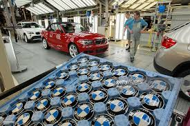 bmw car plant bmw to produce electric cars in leipzig photos and images getty