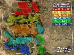 Conifer Colorado Map by Fall Colors 2016 Top Spots To View The Golden Foliage Near The