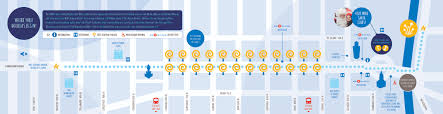 Where Is Chicago On A Map by Lights Festival Activity Guide U0026 Map The Magnificent Mile