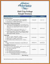 travel itinerary template travel itinerary template free