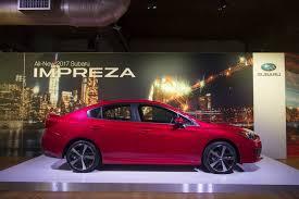 subaru evo 2016 here u0027s the 2017 subaru impreza sedan new images