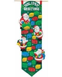 new shopping special bucilla advent calendar felt applique kit 9