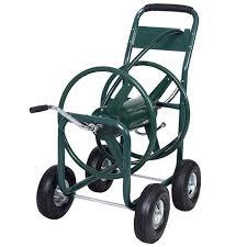 water hose reel wall mount gym equipment garden yard water planting hose reel cart heavy duty