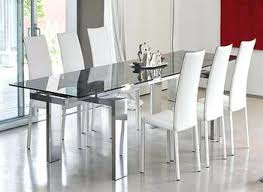 Dining Room Furniture Toronto Dining Room Contemporary Glass Table Igfusa Org