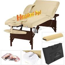 best heated massage table heat massage table heated spa salon professional portable warmer bed