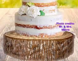 styrofoam rustic wedding tree slices stumps bark circles