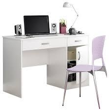White Small Computer Desk South Shore Axess Small Computer Desk White Transitional
