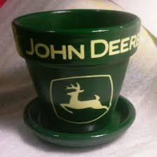 a john deere kitchen set coming with cream and sugar butter dish