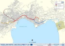 Athens Subway Map by Thessaloniki Metro Dimokratias Stavroupoli Efkarpia