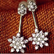 earring plasters fit small fresh fashion earrings snowflake micro plasters