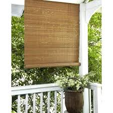 Outdoor Bamboo Blinds Lowes Bamboo Roll Up Shades U2013 Senalka Com