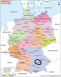 Freiburg Germany Map by Simple Map Of Germany