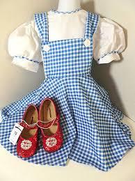 Toddler Dorothy Halloween Costume Girls Toddler Dorothy Wizard Oz Dress Costume Small 3 4