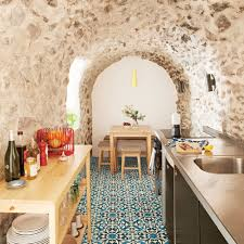 Spanish Style Kitchen small home with big spanish style coastal living