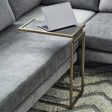 C Side Table Myles C Side Table Burnished Bronze Living Rooms Room And