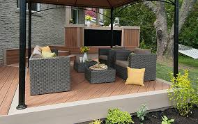 small deck design ideas u0026 photos trex