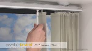 kvl31 premium wand vertical blind youtube
