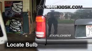 1996 ford explorer tail light assembly brake light change 1995 2001 ford explorer 2000 ford explorer xls