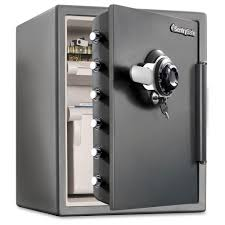 sentry safe water resistant combination security safe with