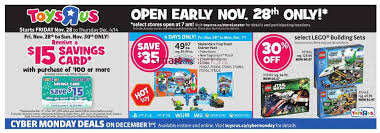 Toys R Us Thanksgiving Hours 2014 Toys R Us And Babies R Us Black Friday 2014 Flyer