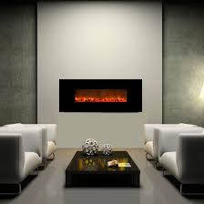 clevr 750 1500w adjustable 36 u2033 electric wallmount fireplace heater