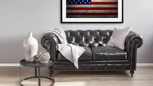 poltrone americane tappeto con bandiera americana stile made in usa dalani e ora